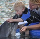 Third Dolphin Therapy for Leon in Marmaris