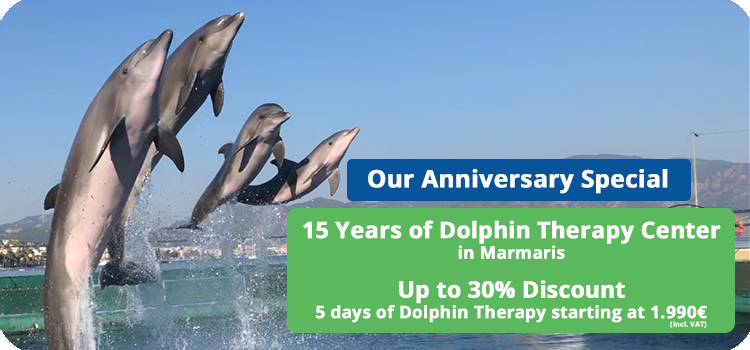 Special Promo: 15 Years of Dolphin Therapy Center in Marmaris Turkey