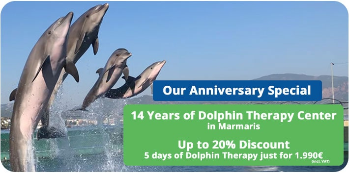 Special Promo: 12 Years of Dolphin Therapy Center in Marmaris Turkey